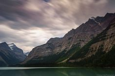 https://flic.kr/p/xmacc8 | Kinney Lake | Kinney Lake on the Berg Lake Trail in Mount Robson Provincial Park.  The clouds were moving pretty quickly so added a Lee Big Stopper to capture some movement.