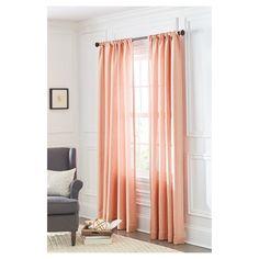 Curtain Panel Metallic - Threshold™ : Target