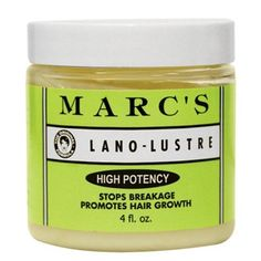 Marc's Lano-Lustre High Potency, Stops Breakage Promotes Hair Growth 4oz:Amazon:Beauty