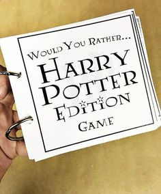 Get 3 FREE Harry Potter printables today on and youll be sorted into the proper house, have a countdown to your Harry Potter vacation, and youll have a great game to play with the whole family.