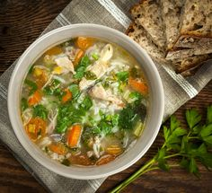 If you want a soup that's just as good as an entrée as it is a side dish, this one is not to be missed; it'll warm you up and keep you going strong!