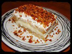 Zakynthos - ízek a szigeten Greek Sweets, Greek Desserts, Greek Recipes, Easy Desserts, Types Of Desserts, Homemade Sweets, Icebox Cake, Frozen Yogurt, Cooking Time