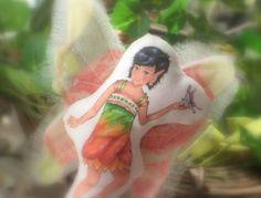 Pocket Fairy Doll  Willow by FrivolTees on Etsy, $8.00