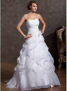 Wedding+Dresses+-+$211.99+-+A-Line/Princess+Sweetheart+Court+Train+Organza+Wedding+Dress+With+Lace+Beading+Flower(s)++http://www.dressfirst.com/A-Line-Princess-Sweetheart-Court-Train-Organza-Wedding-Dress-With-Lace-Beading-Flower-S-002014843-g14843