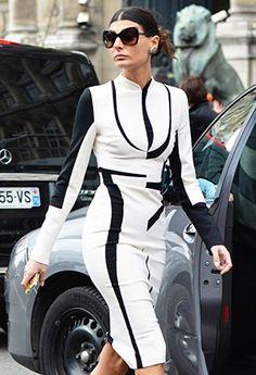 W Magazine Fashion Editor Giovanna Battaglia  So chic!
