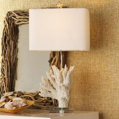 Chic Tree Coral Table Lamp