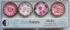 4 Pack of Amazingly Strong Magnets with Love Song by dianekappa, $11.50