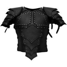 Dragonrider Leather Armor black ($395) ❤ liked on Polyvore featuring armor and warrior