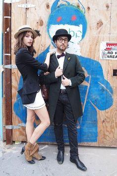 Charlotte Kemp Muhl & Sean Lennon