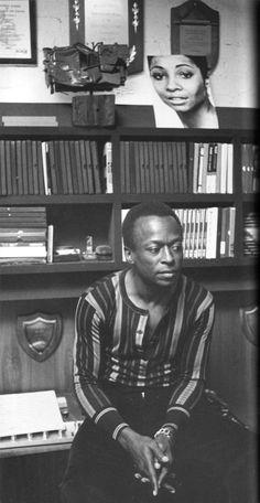 Miles Davis: king of minimalist casual.