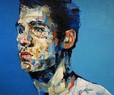 "Saatchi Online Artist Andrew Salgado; Painting, ""Nathan (Harvey Nichols Commission)"" #art"
