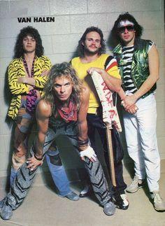 Van Halen (Band) A great range of steel apple watch bracelets to suit every occasion 80s Hair Metal, Hair Metal Bands, 80s Hair Bands, 80s Metal Bands, New Rock Bands, Rock And Roll Bands, Glam Rock Bands, Alex Van Halen, Eddie Van Halen