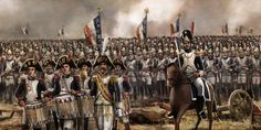 Empire of France, Final attack of Emperor Napoleon's Old Imperial Guards, by end of this attack, the Napoleon war was finished...