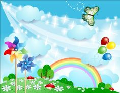 Buy Spring Background with Pinwheels and Butterfly by LuisaVenturoli on GraphicRiver. Spring background with pinwheels and butterfly The main file included: 1 file vector 1 file JPEG Airplane Banner, Rainbow Cartoon, Boarder Designs, Sunflowers Background, Landscape Background, Mason Jar Candles, Banner Vector, Flower Frame, Pinwheels