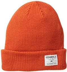 05e110ef $6, Orange Beanie: O'Neill Cuffed Beanie. Sold by Amazon.com. Click for  more info: lookastic.com/.