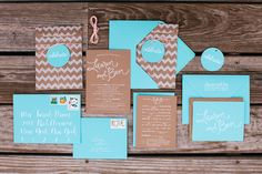 Paper sack enclosure wedding invitation | A really nice and crafty-looking design theme!