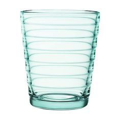Iittala Aino Aalto Tumblers - Water Green - Set of 2 - Small ($19) ❤ liked on Polyvore featuring home, kitchen & dining, drinkware, green, hand blown glass tumblers, glass drinkware, colored glassware, green glassware and glass glassware