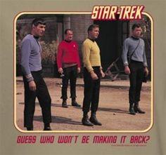 StarTrek: Guess Who Won't Be Making It Back?