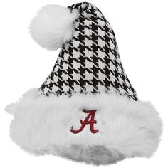 Top of the World Alabama Crimson Tide Houndstooth Santa Clause Hat    Price: $21.95