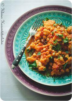 Blumenkohl-Kichererbsen-Curry - Kleiner Kuriositätenladen
