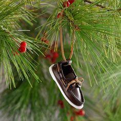 Sperry Christmas Ornament