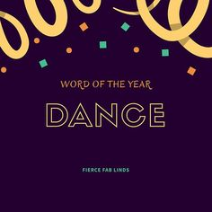Dancing brings me joy. It's my favorite way to exercise and move. But it's been missing from my life since we got here so I decided it needed to be my word this year. Get up and dance. Do that thing you love and brings you joy. Dance.