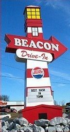 Beacon restaurant Spartanburg , SC...has been featured on Diners,Drive ins and Dives