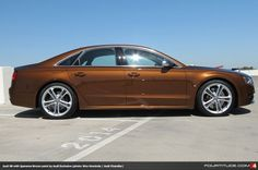 Audi S8 in Ipanema Brown by Audi Exclusive available at Audi Chandler