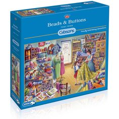 gibsons beads and buttons jigsaw puzzle hobbycraft