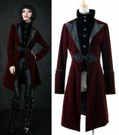 Unisex Gothic Black Punk Visual Kei Japan Coat Jacket Blazer s XL Free SHIPMENT | eBay