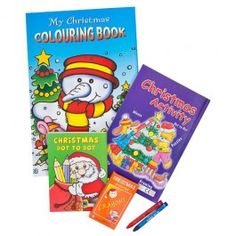 Festive Activity Pack for hours of fun! Pack includes 3 activity packs and 6 crayons. Get creative with our fantastic range of Christmas craft and activities.