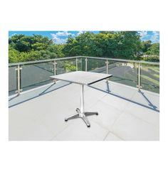 TERRACE LEISURE Maxima Aluminium Square Table Silver - Lowest Prices & Specials Online | Makro