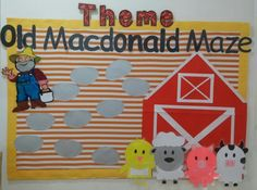 Nursery rhymes themed classroom