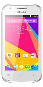BLU Dash JR 4.0 K Smartphone - Unlocked - White - http://www.mobiledesert.com/cell-phones-mp3-players/blu-dash-jr-40-k-smartphone-unlocked-white-com/