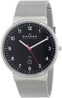 Skagen Men's SKW6051 Klassik Analog Display Analog Quartz Silver Watch Skagen http://www.amazon.com/dp/B00BLZWJ7A/ref=cm_sw_r_pi_dp_RwpQtb1RG2439521