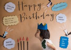 Cure way to take birthday photo.and make a card for grandma! Half Birthday, Birthday Photos, Birthday Cards, Birthday Parties, Diy And Crafts, Crafts For Kids, Family Crafts, Party In A Box, Message Card