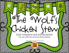 Schoolhouse Talk!: The Wolf's Chicken Stew {book companion + giveaway}