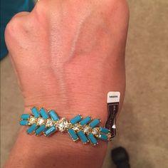 Henri bendel Waldorf skinny cuff New! Turquoise.. Cute henri bendel Jewelry
