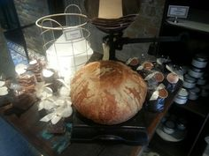 A stunning boule and patisserie full of baked delights and a powerful coffee.  So pretty as well.