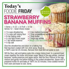 36 Ideas Weight Watchers Breakfast Meal Prep Recipes For Breakfast Snacks, Healthy Breakfast Recipes, Easy Healthy Recipes, Diet Recipes, Diet Tips, Healthy Eating, Healthy Breakfasts, Breakfast Ideas, Healthy Foods