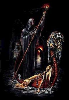 Grim Reaper, Alchemy Gothic Art.