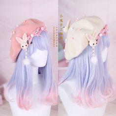 Hair Pin Lolita Hair Accessories Moe Sweet Japan Kawaii Bow Cute Beret Kawaii #1 | Clothing, Shoes & Accessories, Women's Accessories, Hair Accessories | eBay!