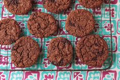 chocolate mint thins cookies