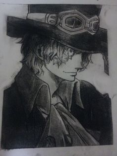 Sabo One Piece, First Love, Draw, Anime, Cinnamon, Fictional Characters, Sketches, Drawings, Canela