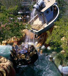 Popeye & Bluto's Bilge-Rat Barges Islands of Adventure Orlando, Florida Visit Florida, Florida Vacation, Vacation Places, Florida 2017, Family Vacations, Orlando Florida, Orlando Theme Parks, Parque Universal, Universal Parks