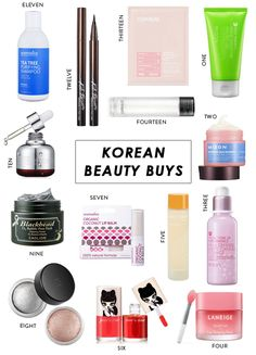 14 Korean Beauty Products We're Dying to Try