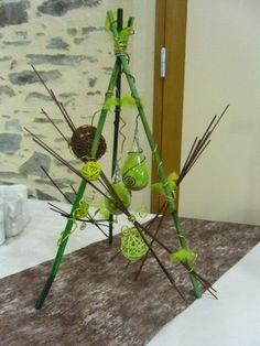 Plan de table végétal, mariage nature et exotique | deco ...