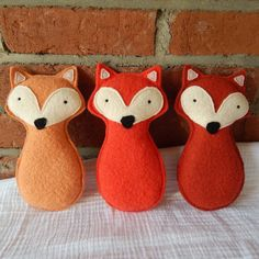 Items similar to Fox Toy – Medium Orange Fox – Wool Felt Fox – Plush Fox Toy – Stuffed Fox – Recycled Sweater Toy – Felted Wool Fox – Ecofriendly Baby Toy on Etsy – Toys Ideas Fox Crafts, Baby Crafts, Diy And Crafts, Felt Fox, Wool Felt, Felted Wool, Sewing Toys, Sewing Crafts, Craft Projects