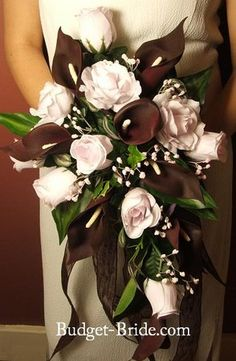 Wedding, Flowers, Pink, Brown - Bouquet - Project Wedding