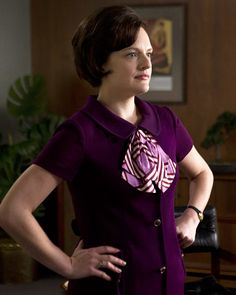 The Season Finale of Mad Men Is Tonight! Look Back At the Best Style Moments Mad Men Peggy, Men Tv, Don Draper, Orphan Black, Hayley Williams, Drawing Clothes, Costume Design, Looking Back, Wedding Designs